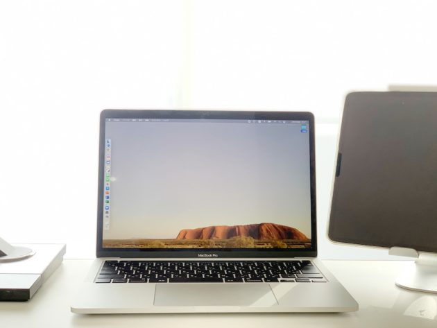 ワードプレスを作成したMacbook Pro